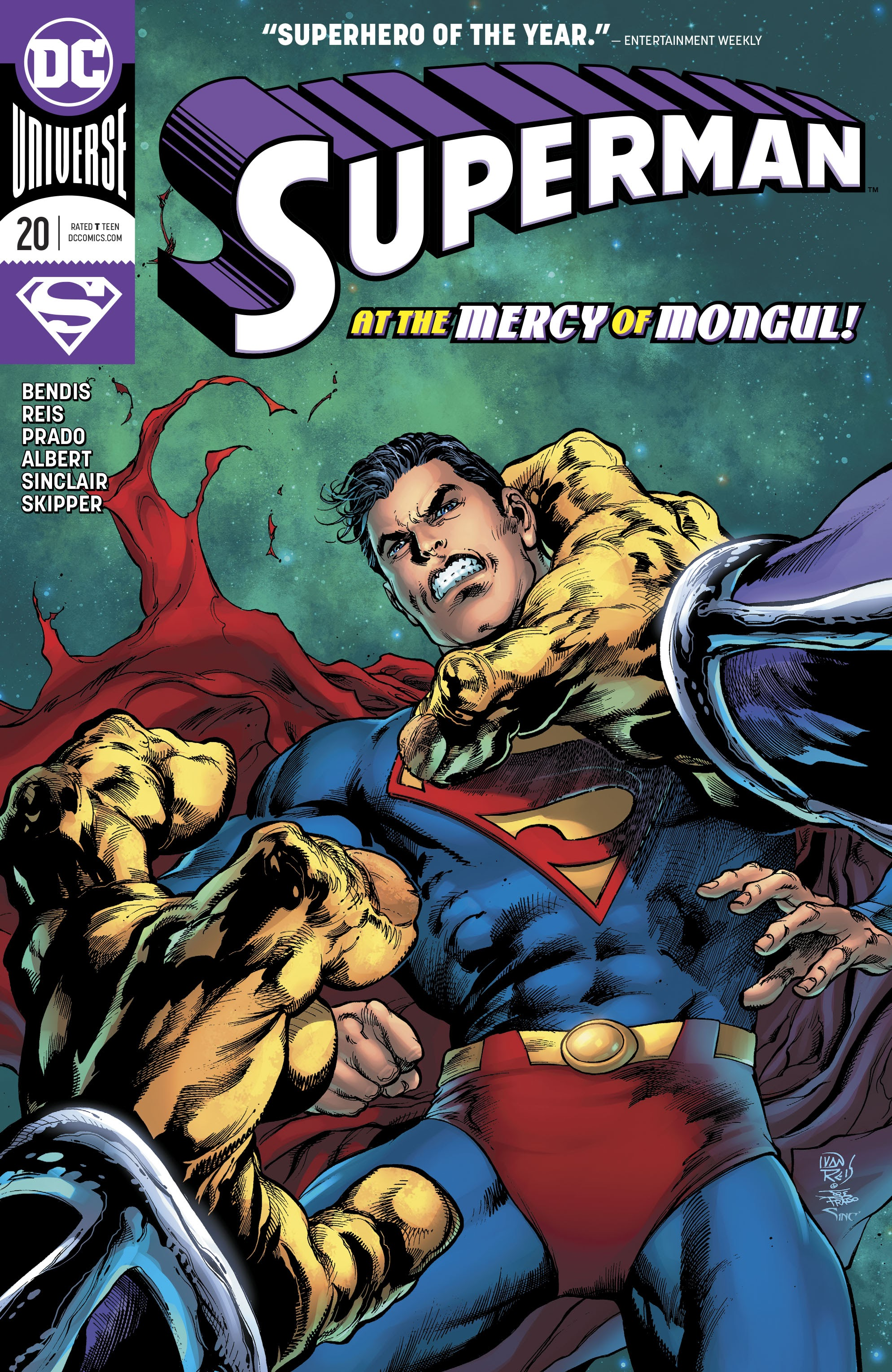 Superman (2018) 20 Page 1