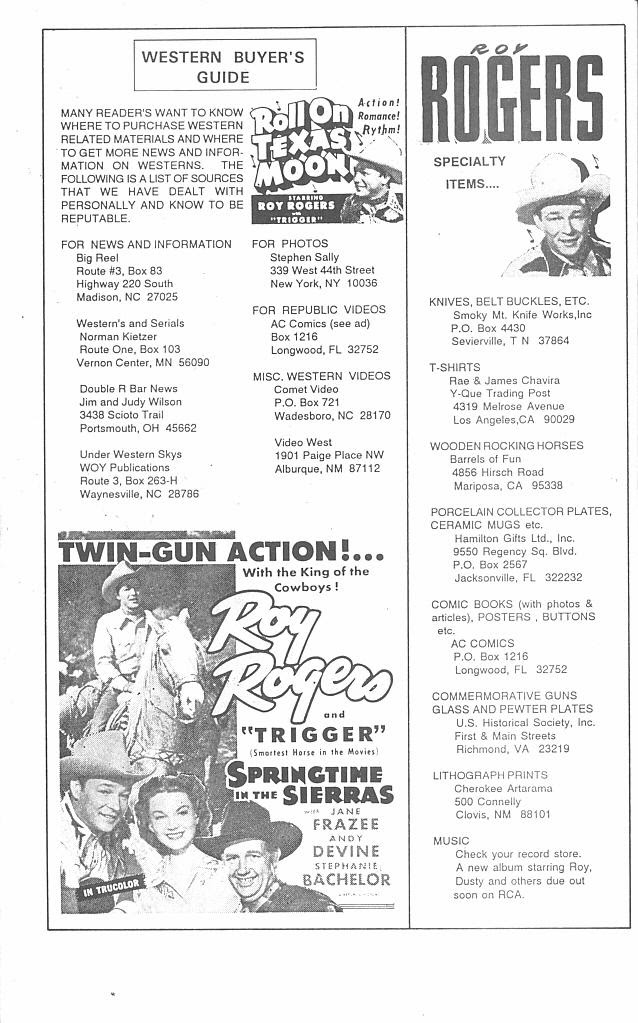Read online Roy Rogers comic -  Issue #4 - 42