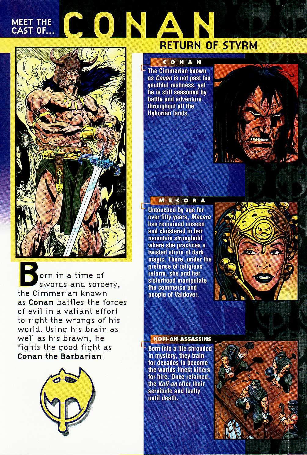 Read online Conan: Return of Styrm comic -  Issue #3 - 2