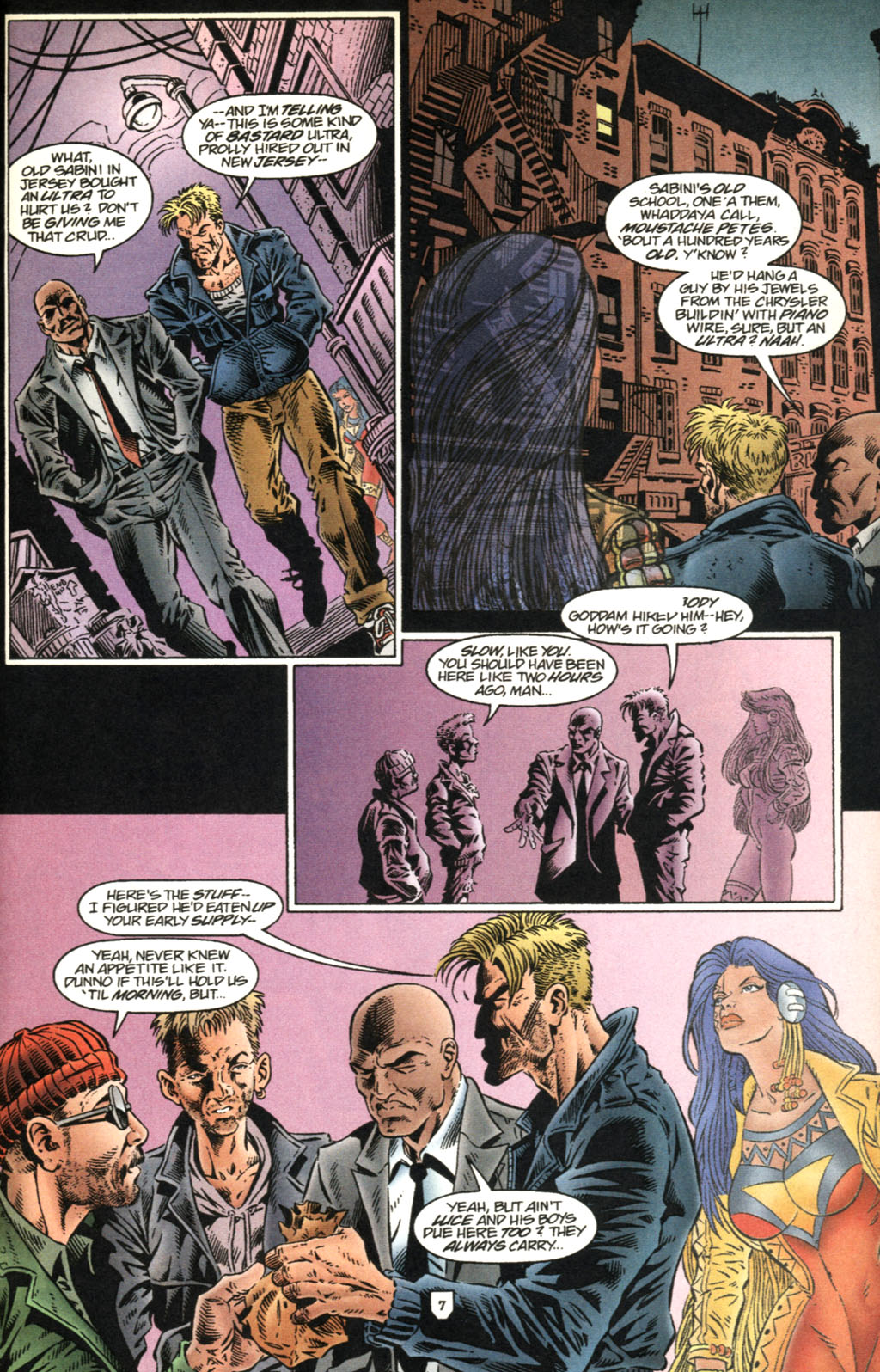 Read online UltraForce (1995) comic -  Issue #2 - 8