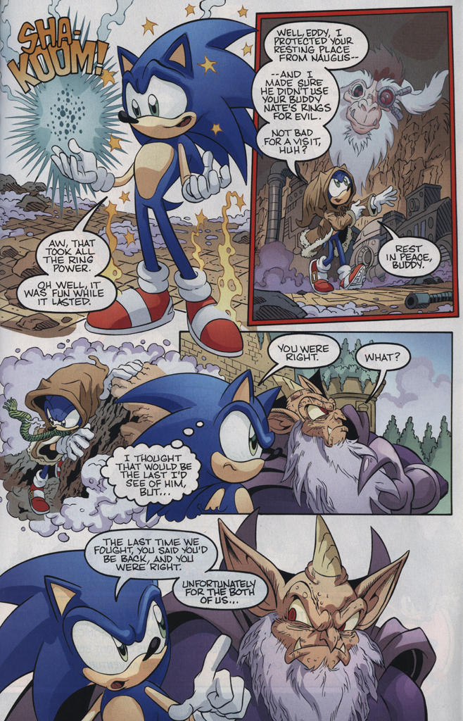 Read online Sonic the Hedgehog Free Comic Book Day Edition comic -  Issue # Special 5 - 23
