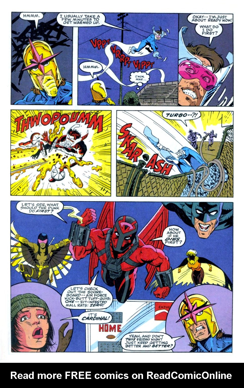 The New Warriors Issue #35 #39 - English 10