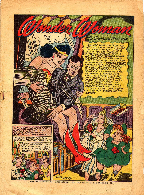 Read online Sensation (Mystery) Comics comic -  Issue #30 - 3