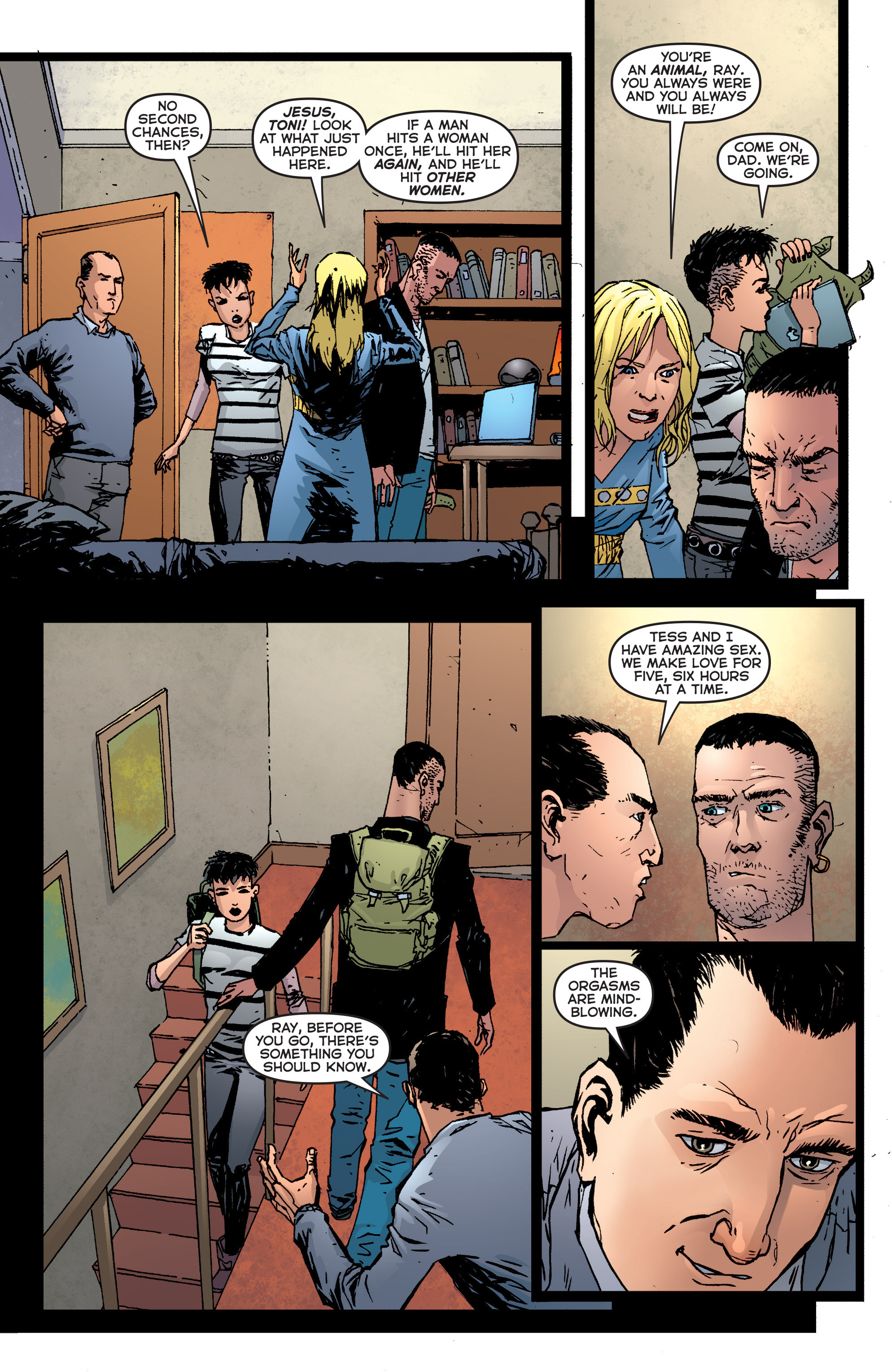 Read online Second Sight comic -  Issue #5 - 4