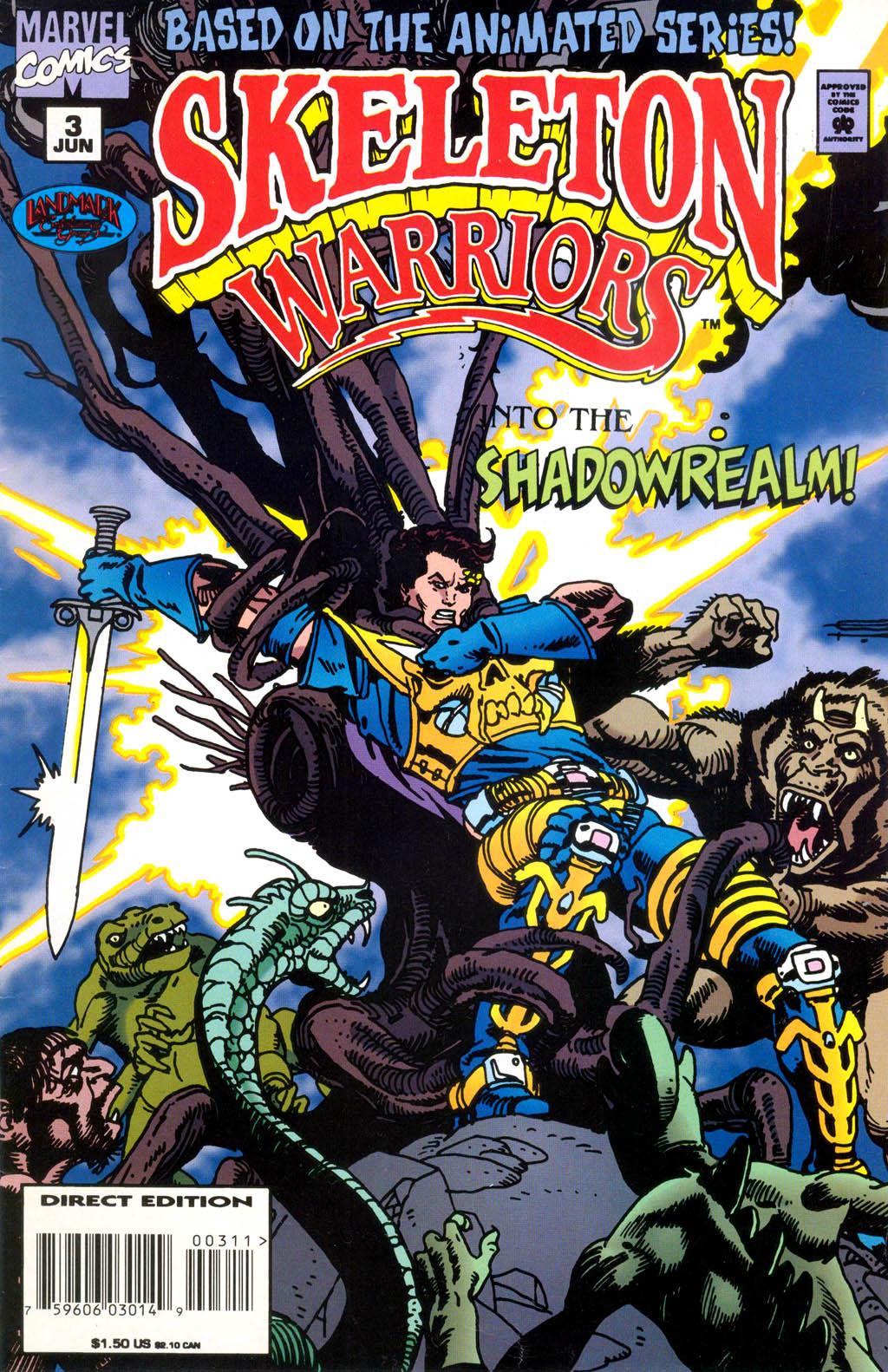 Skeleton Warriors Issue #3 #3 - English 1