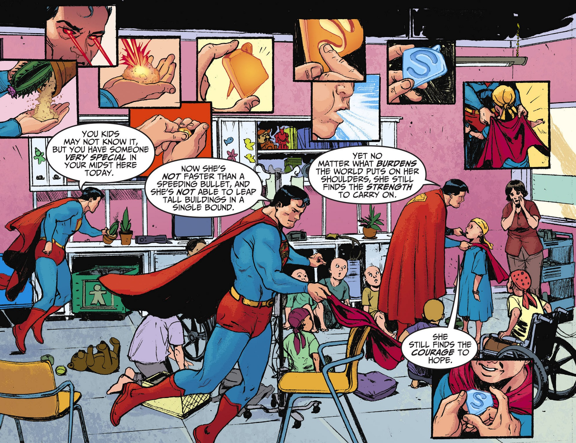 Read online Adventures of Superman [I] comic -  Issue #28 - 19