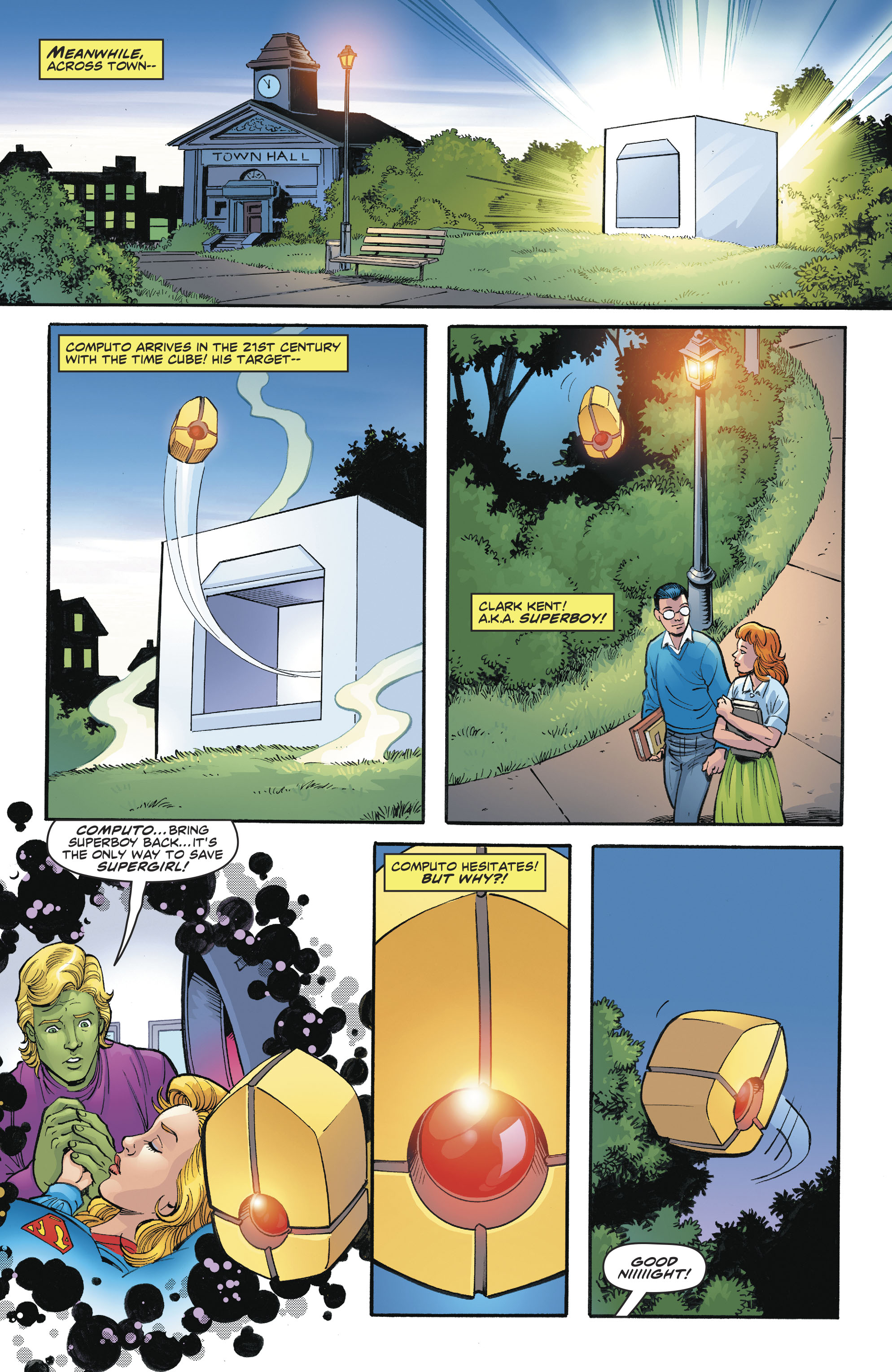 Read online Legion of Super-Heroes/Bugs Bunny Special comic -  Issue # Full - 10