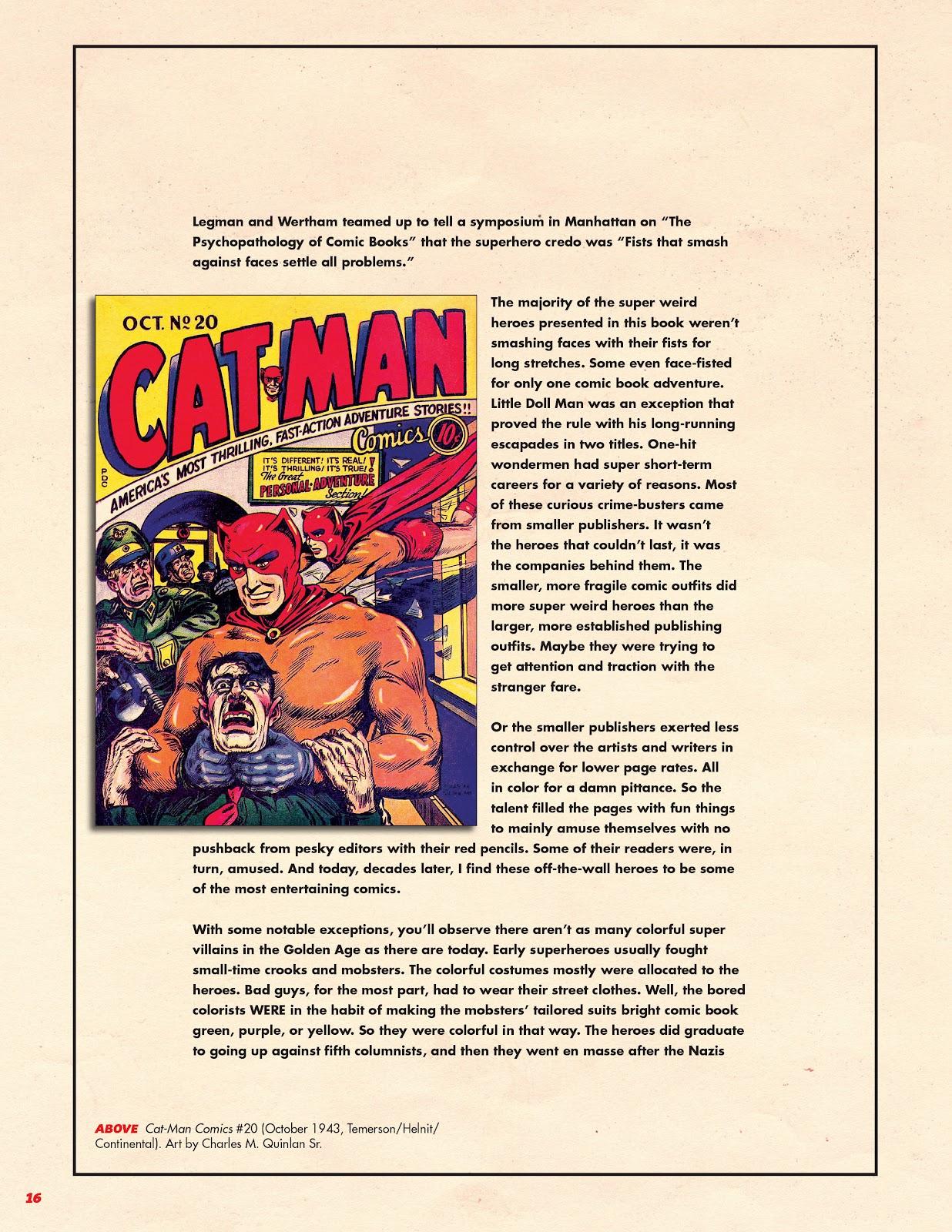 Read online Super Weird Heroes comic -  Issue # TPB 1 (Part 1) - 17