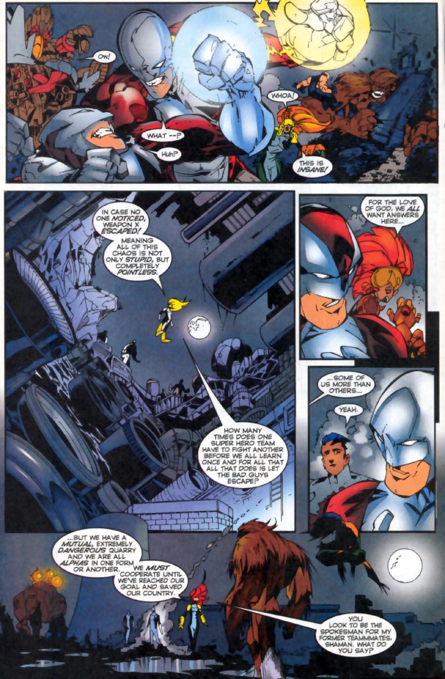 Read online Alpha Flight (1997) comic -  Issue #19 - 9
