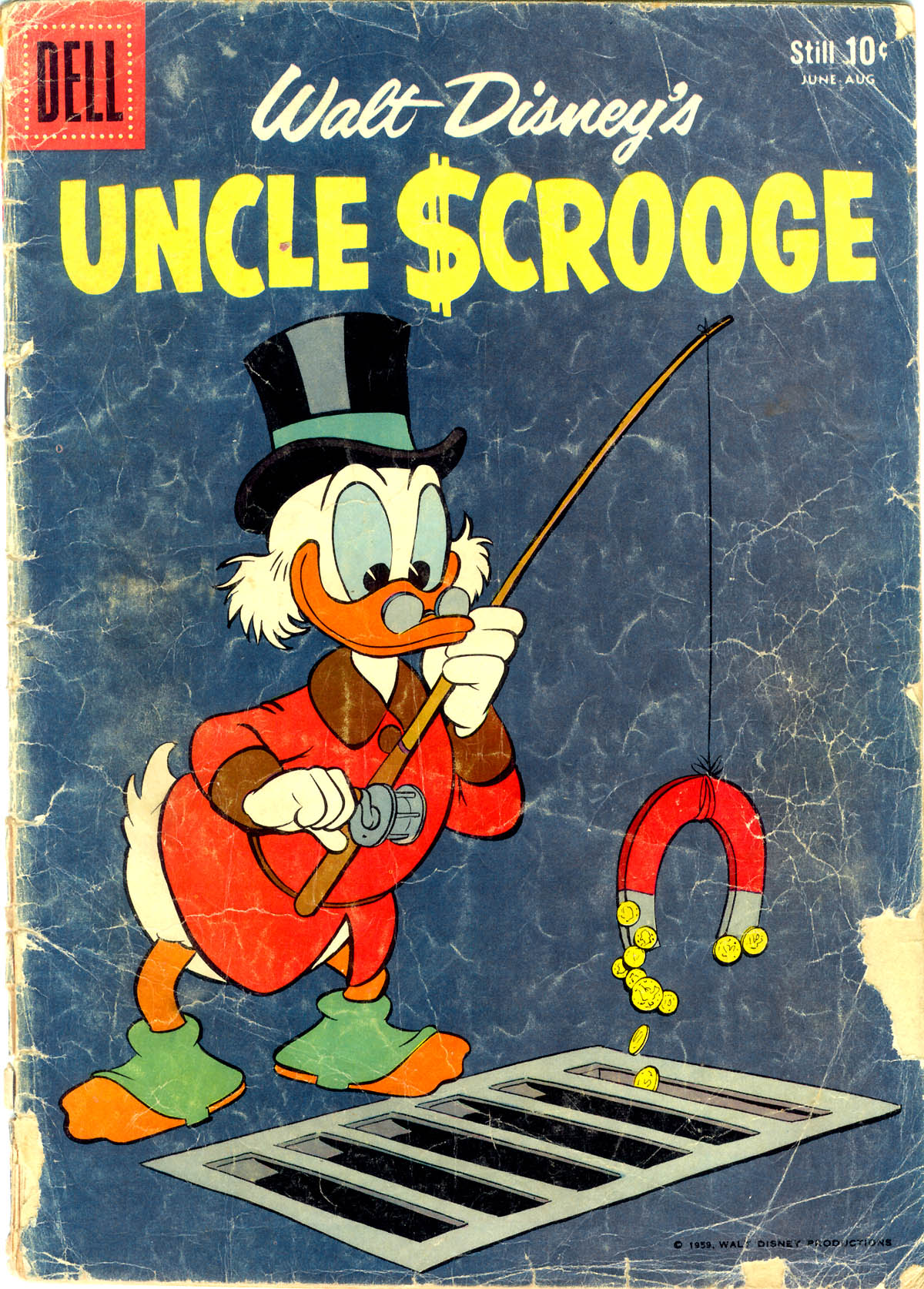 Read online Uncle Scrooge (1953) comic -  Issue #26 - 1