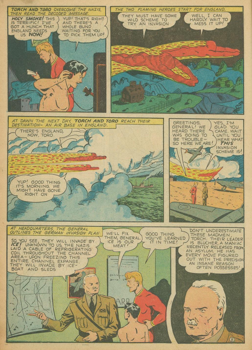 Read online All-Winners Comics comic -  Issue #8 - 12