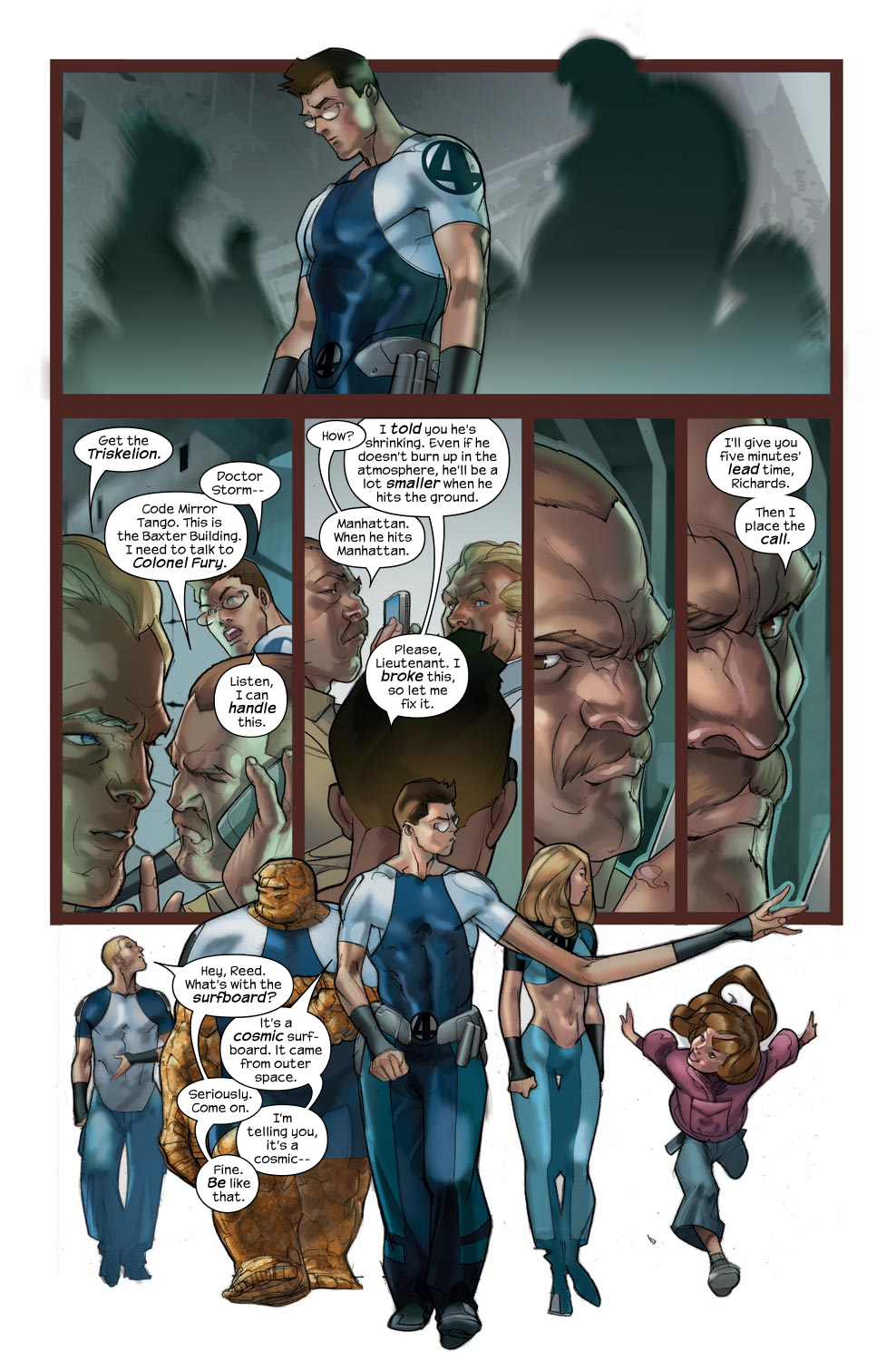 Read online Ultimate Fantastic Four (2004) comic -  Issue #43 - 5