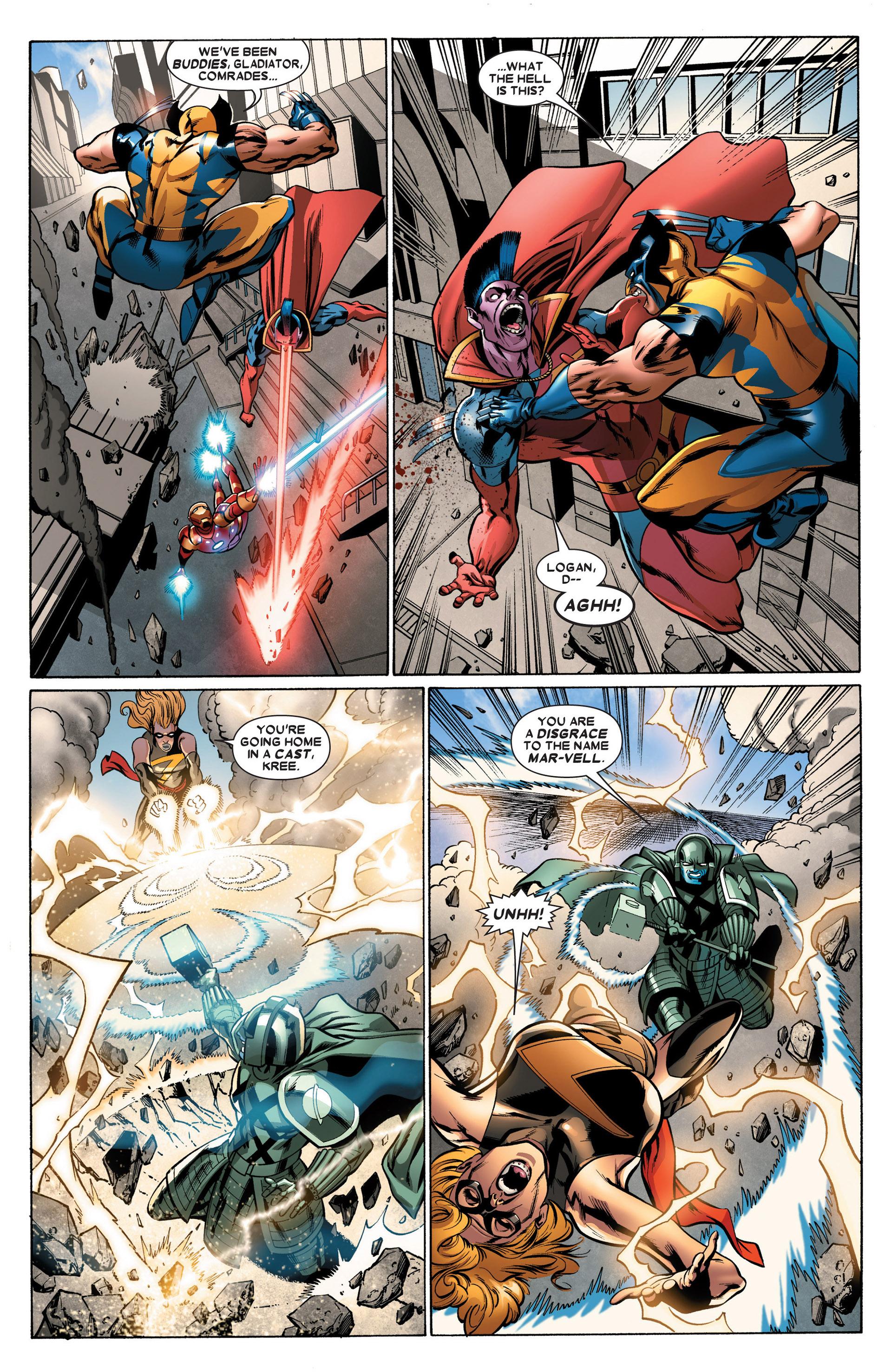 Read online Annihilators: Earthfall comic -  Issue #2 - 10