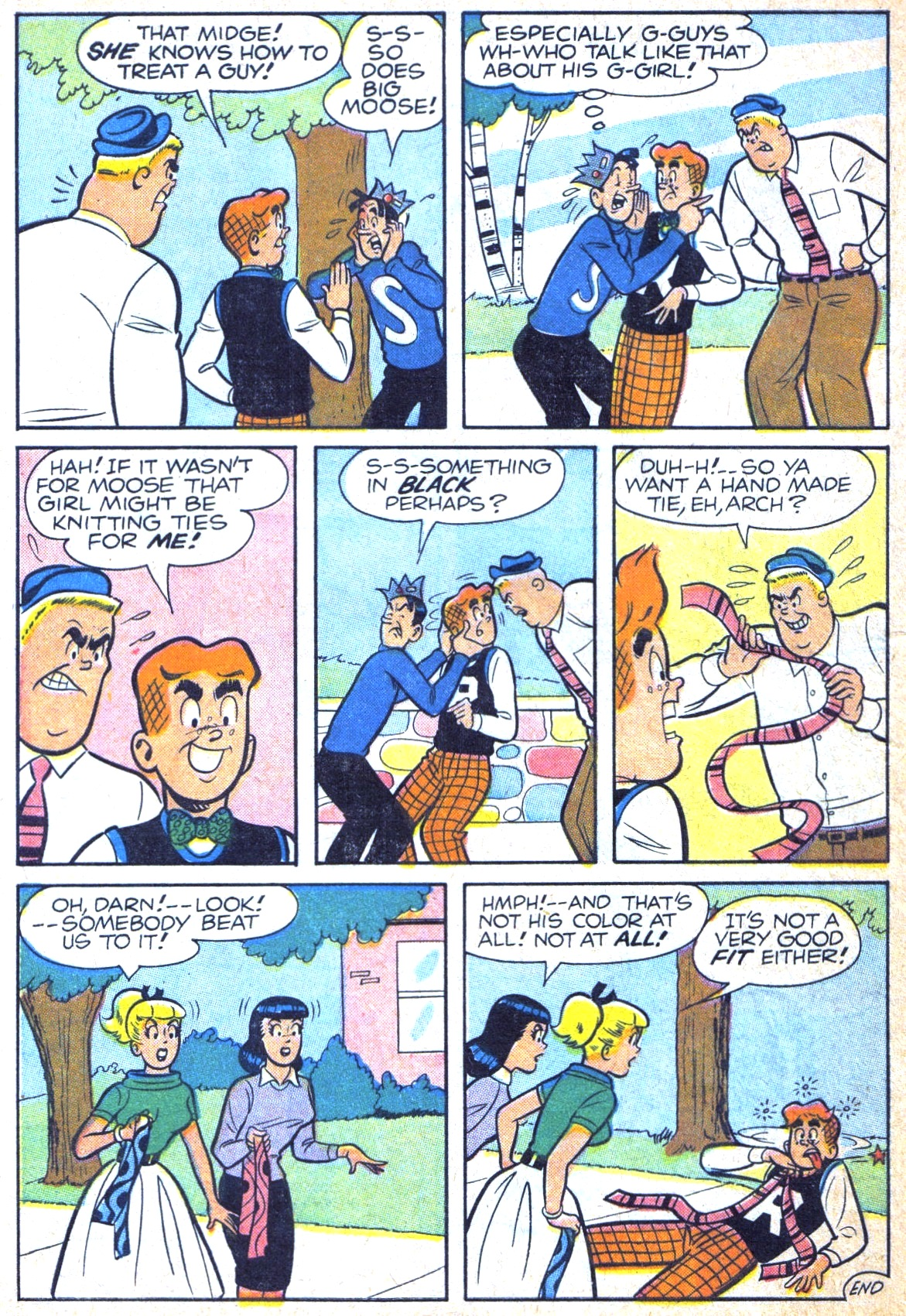 Read online Archie (1960) comic -  Issue #120 - 8