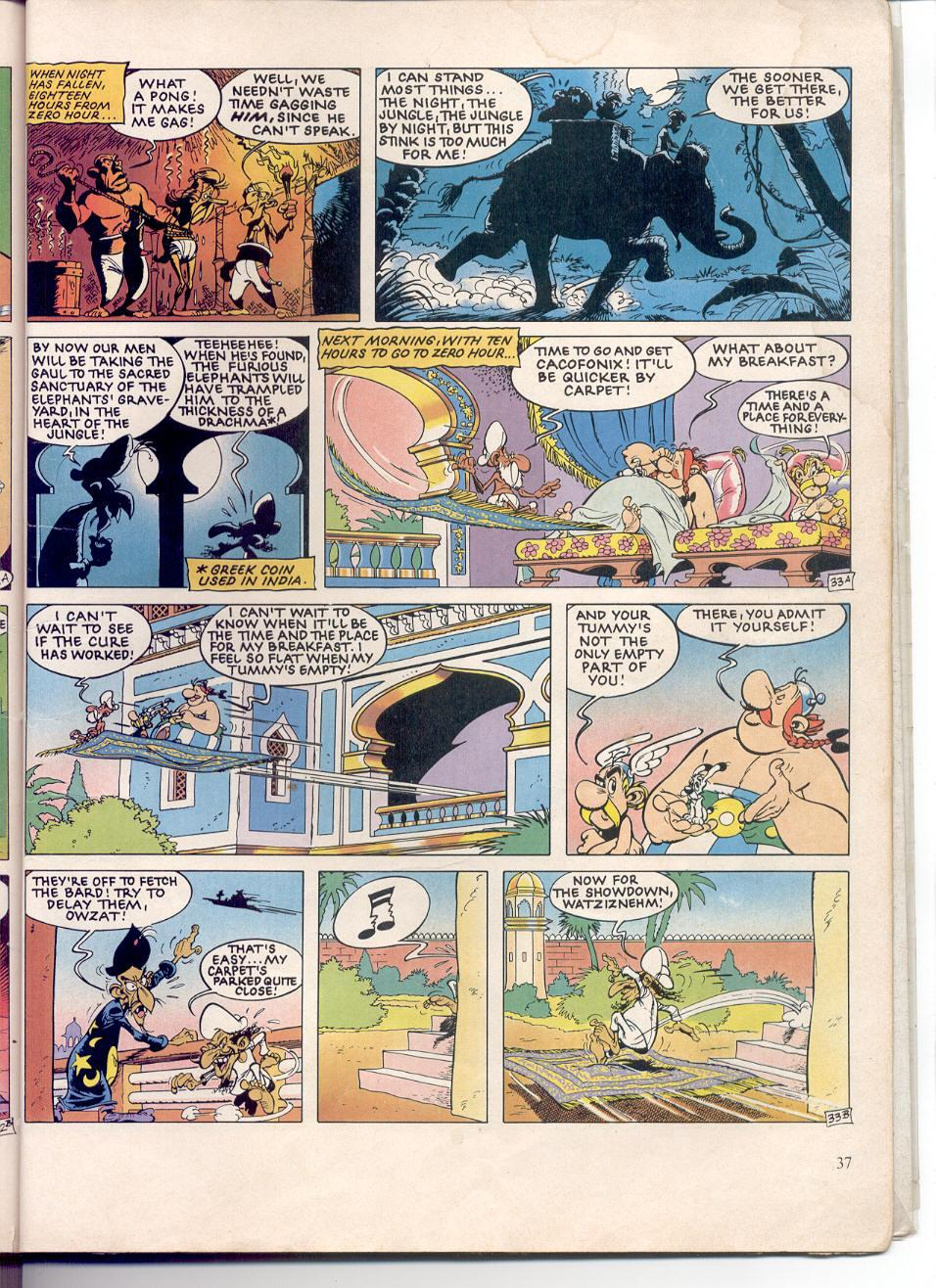 Read online Asterix comic -  Issue #28 - 34