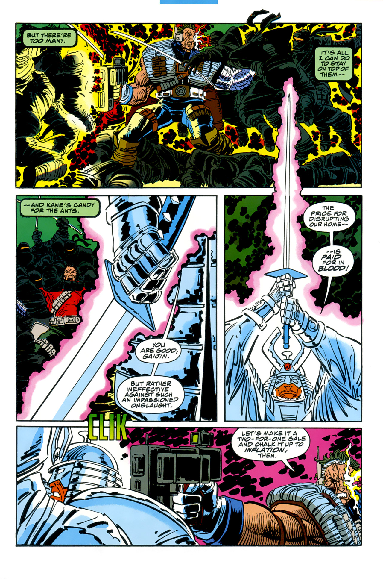 Read online Cable - Blood and Metal comic -  Issue #2 - 8
