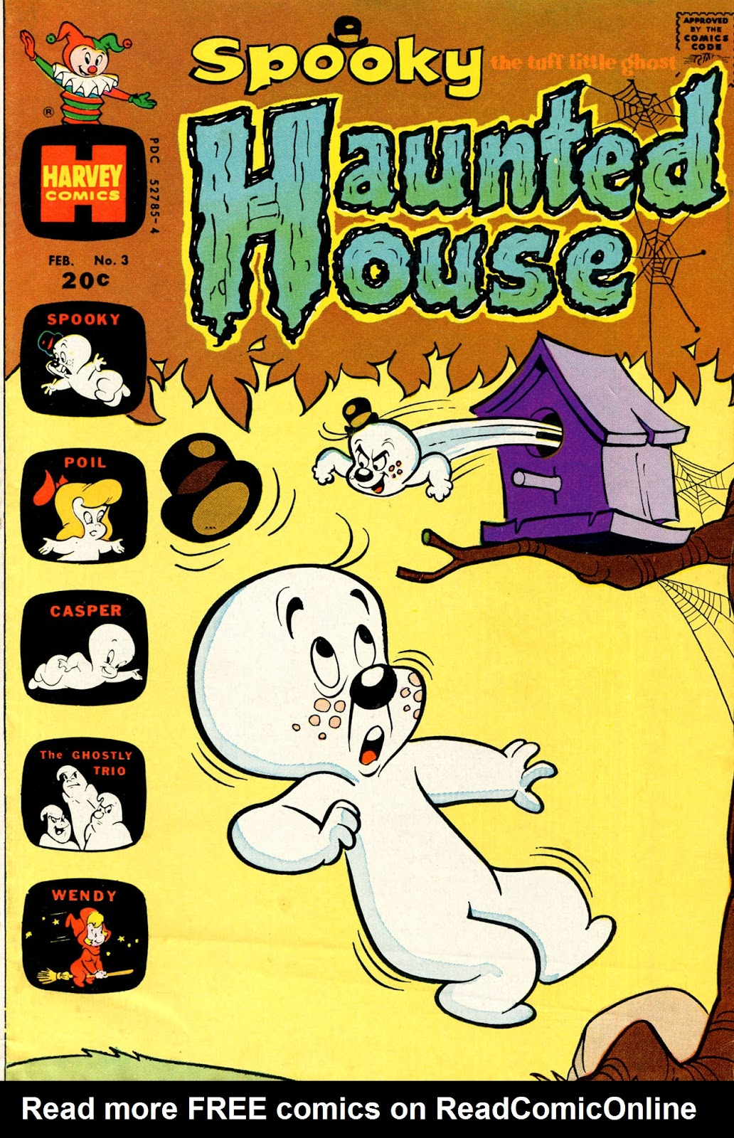 Spooky Haunted House issue 3 - Page 1