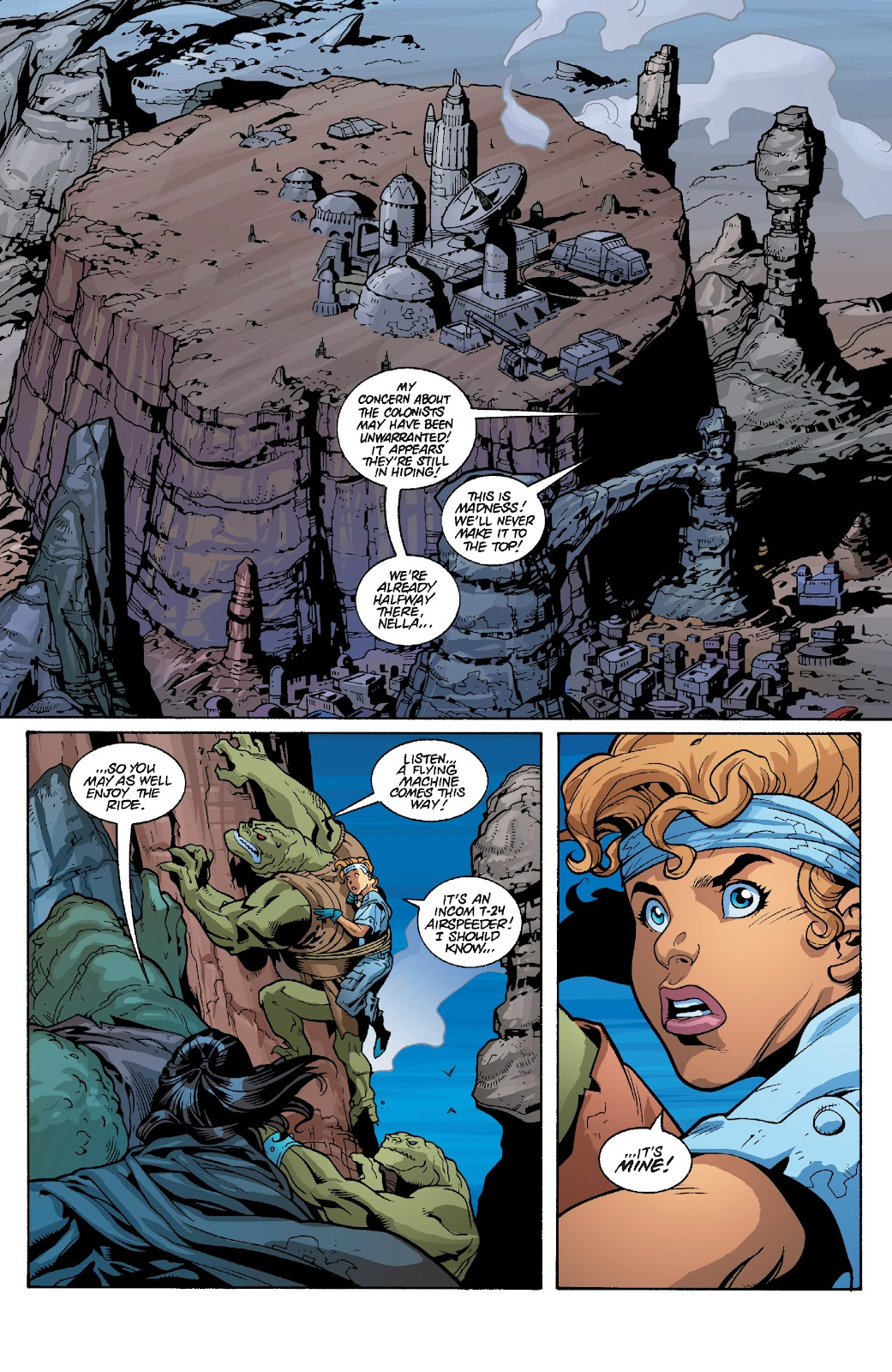Read online Star Wars Legends: Rise of the Sith - Epic Collection comic -  Issue # TPB 1 (Part 4) - 33