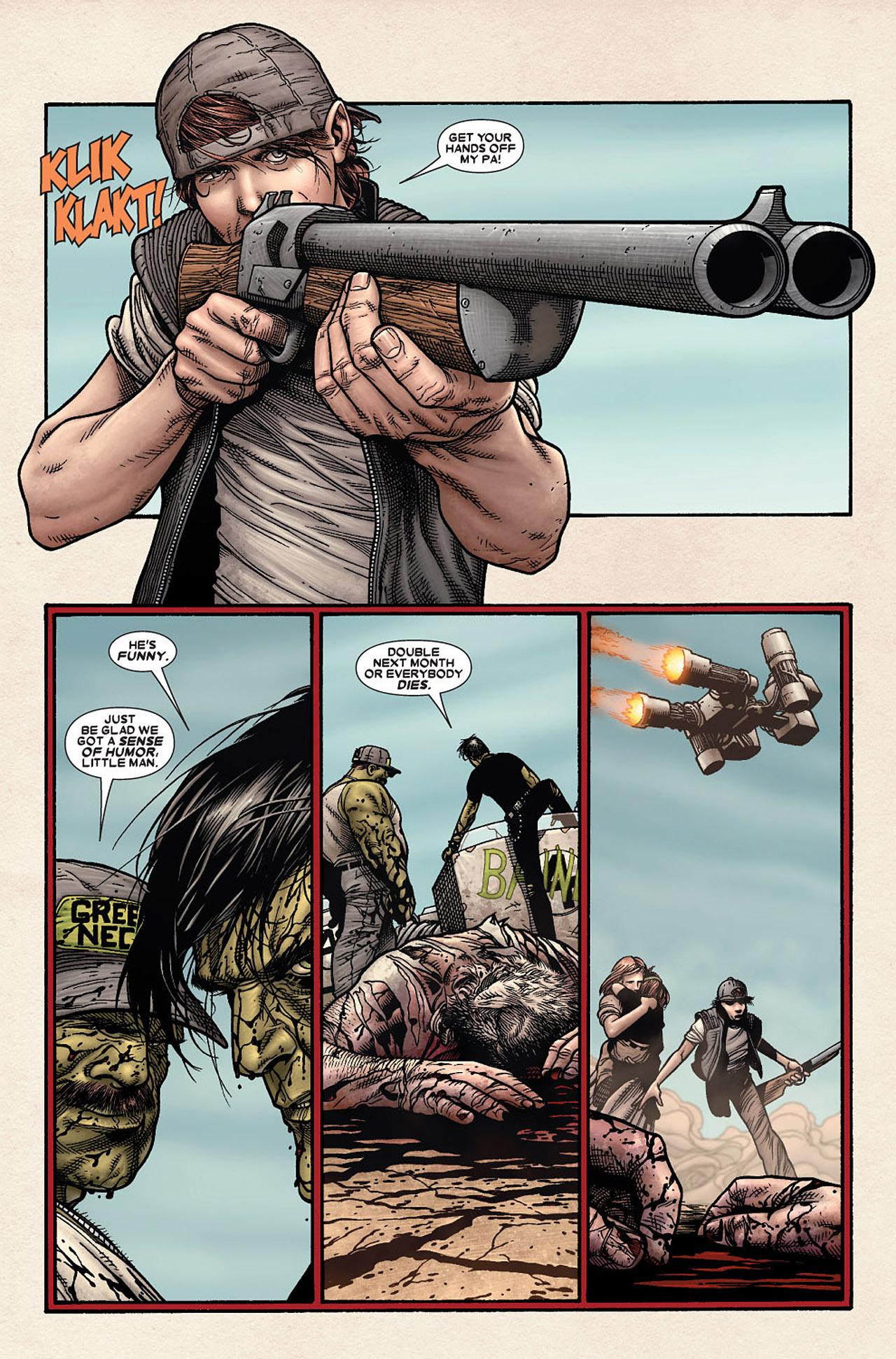 Read online Wolverine: Old Man Logan comic -  Issue # Full - 17