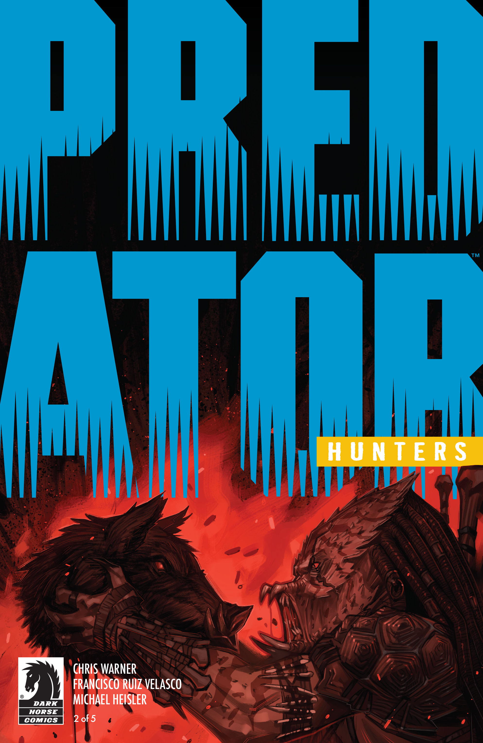 Read online Predator: Hunters comic -  Issue #2 - 2