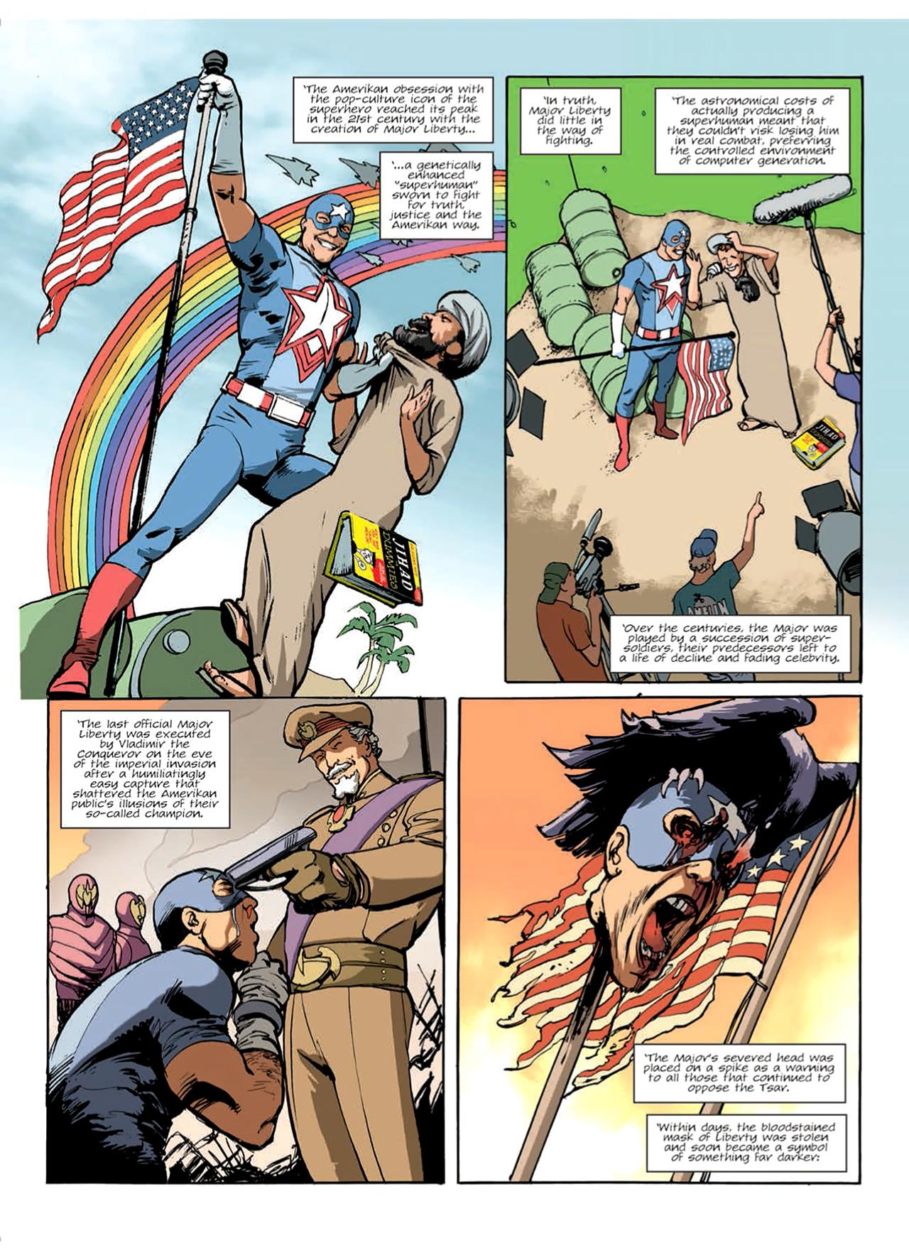 Read online Nikolai Dante comic -  Issue # TPB 9 - 24