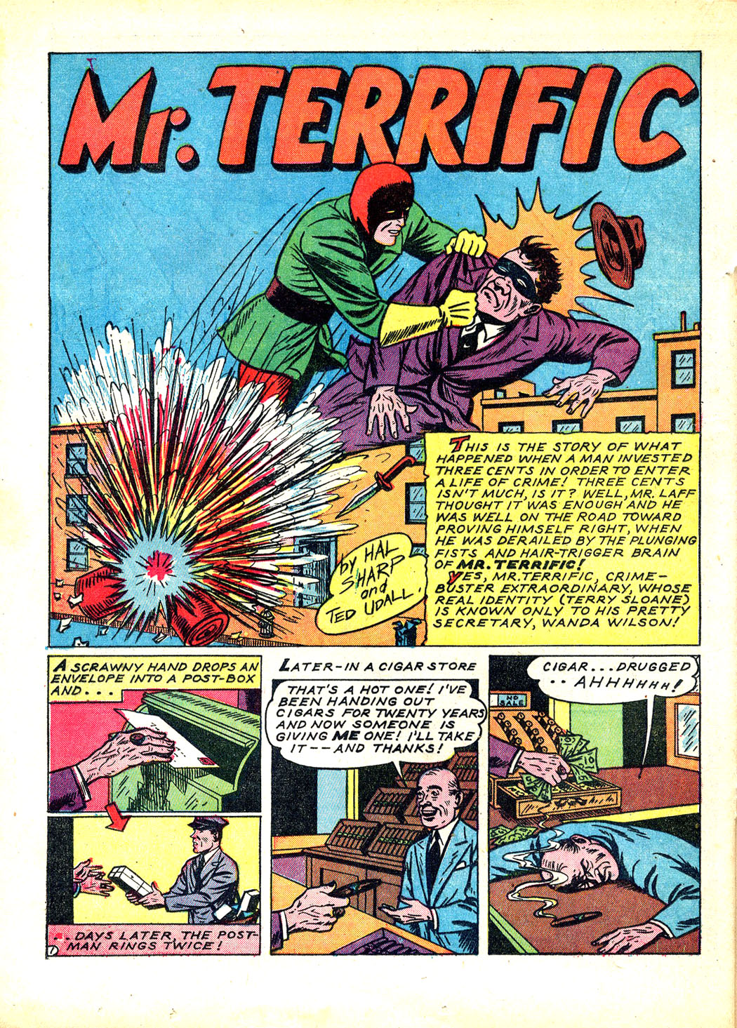 Read online Sensation (Mystery) Comics comic -  Issue #12 - 36