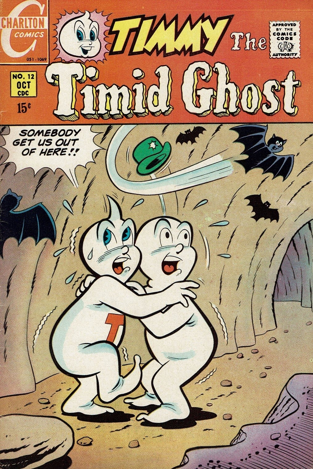 Timmy the Timid Ghost 12 Page 1