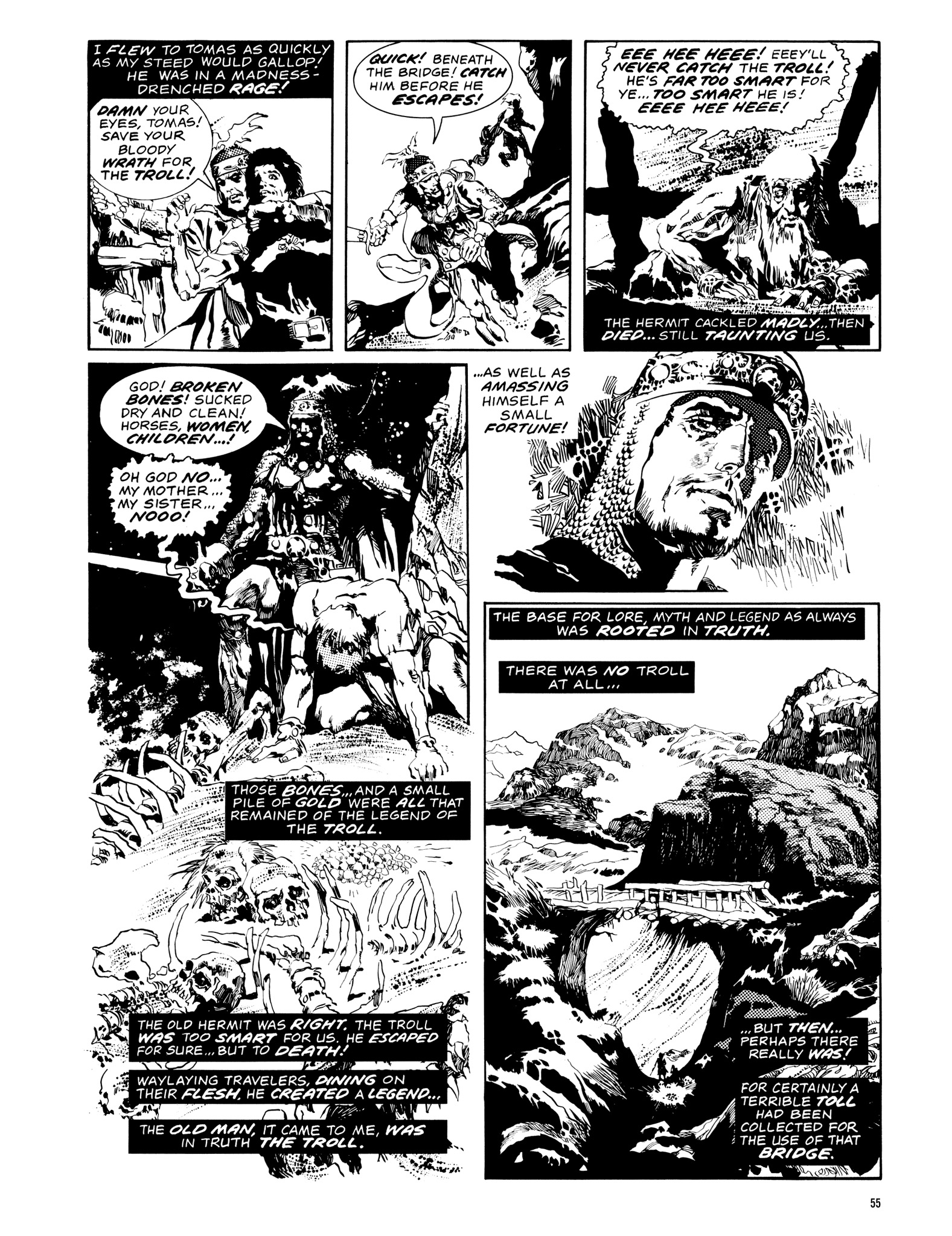 Read online Eerie Archives comic -  Issue # TPB 14 - 56