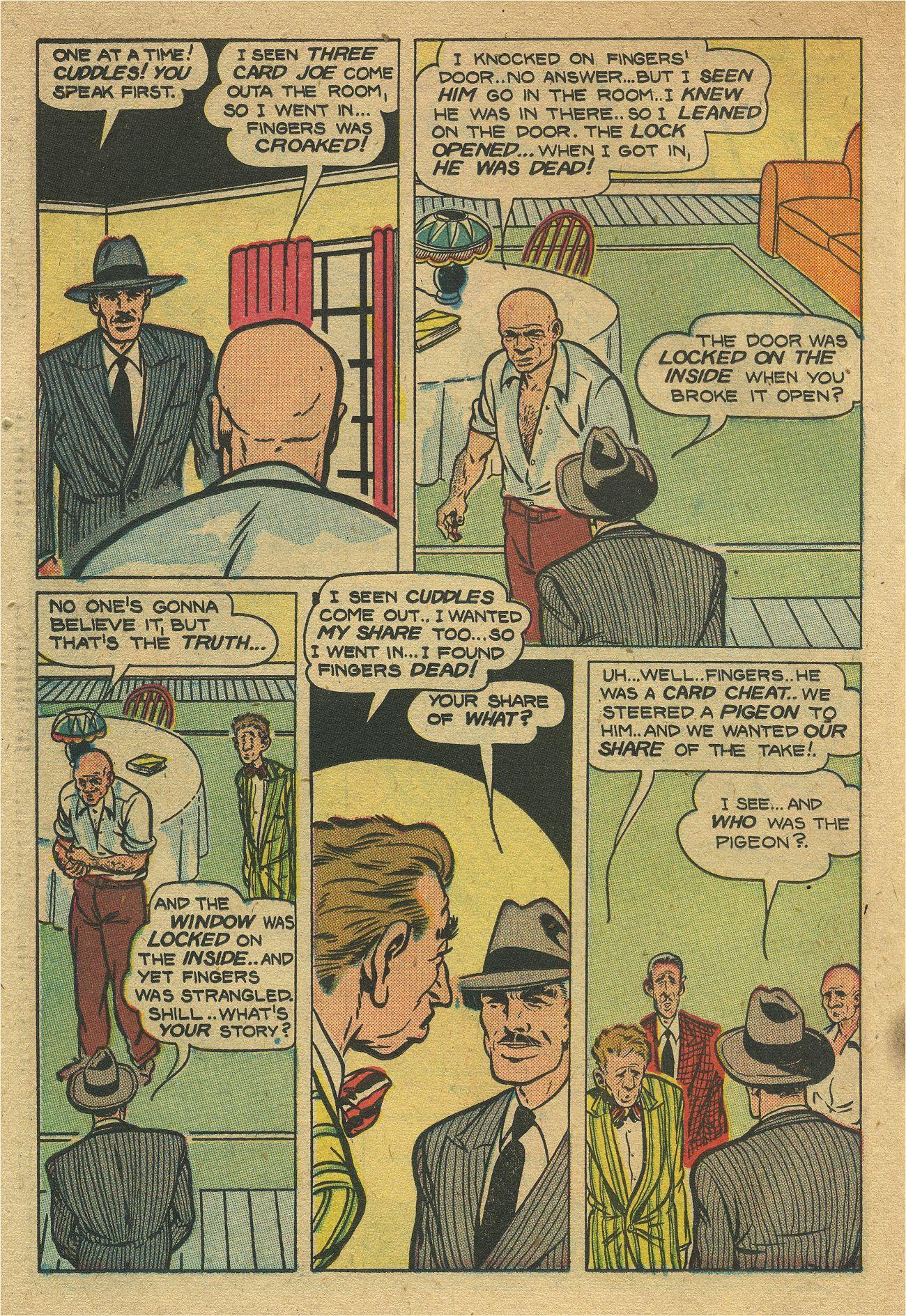 Read online Shadow Comics comic -  Issue #93 - 39