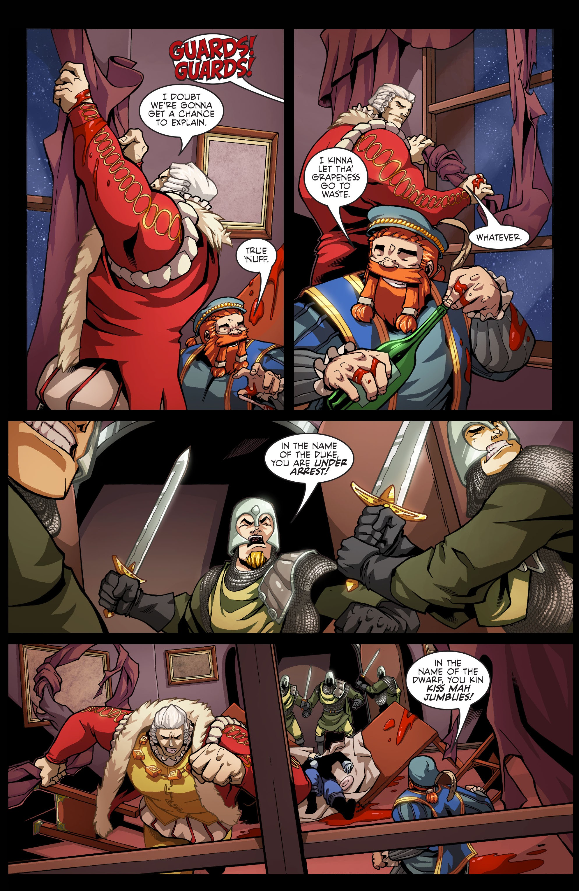 Read online Skullkickers comic -  Issue #7 - 21