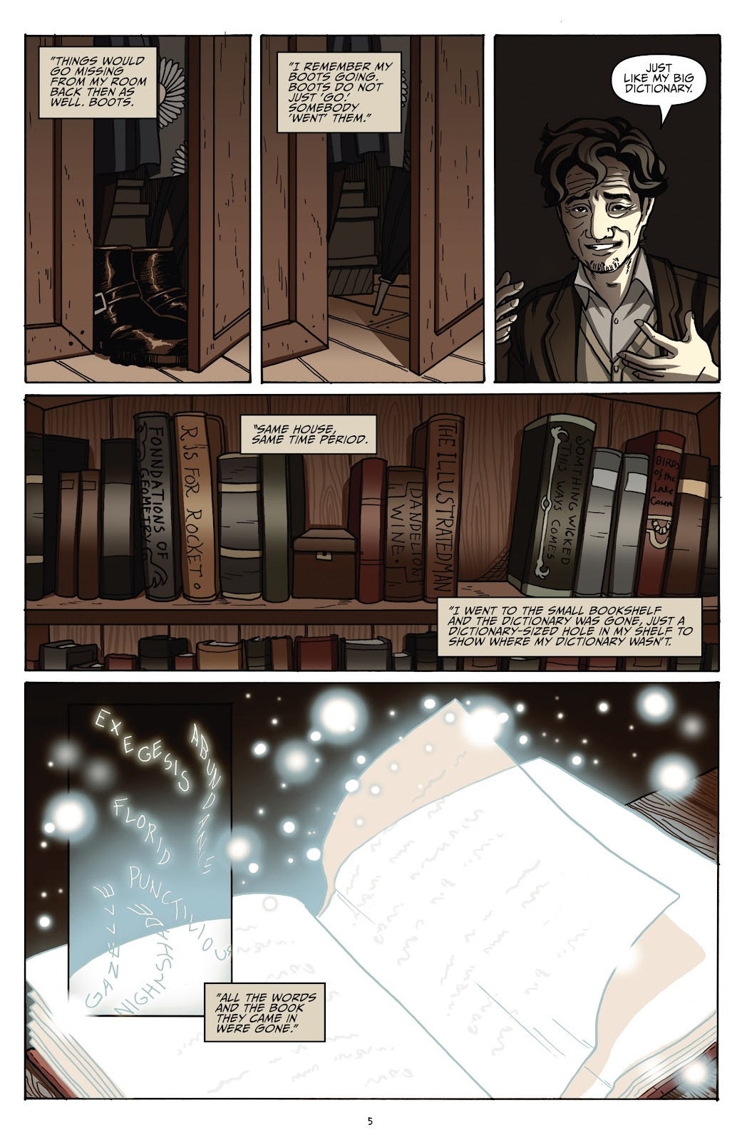 Read online Shadow Show: Stories in Celebration of Ray Bradbury comic -  Issue #2 - 7