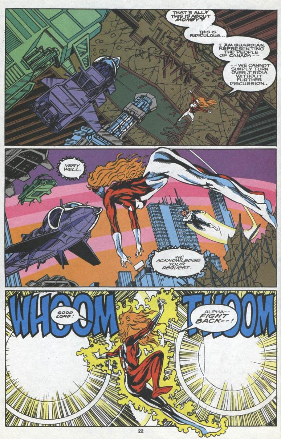 Read online Alpha Flight (1983) comic -  Issue #97 - 18