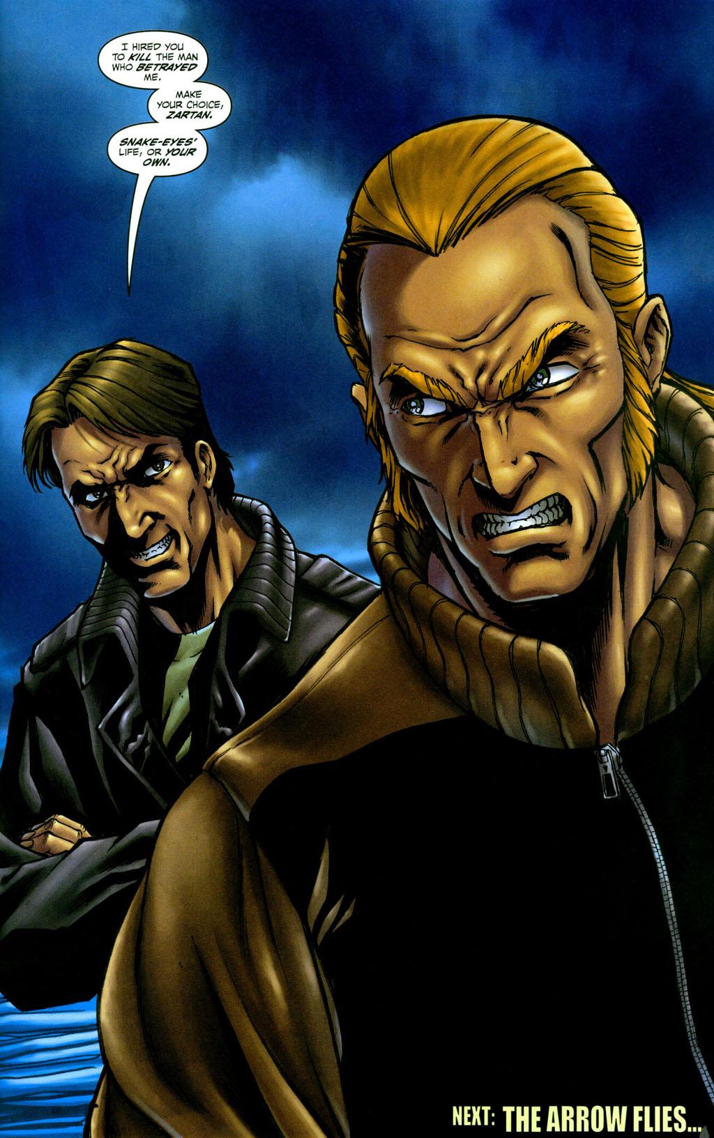 Read online Snake Eyes: Declassified comic -  Issue #4 - 23