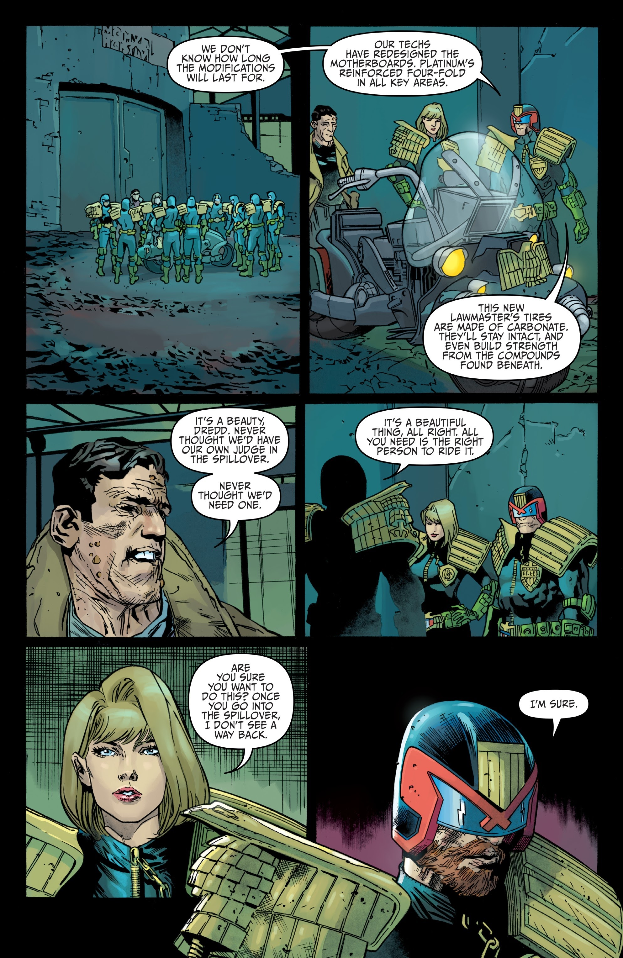 Judge Dredd: Toxic #4 #4 - English 20