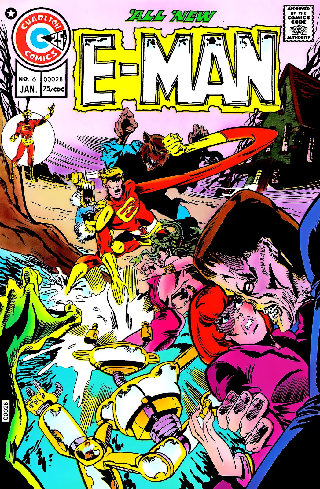 E-Man (1973) issue 6 - Page 1