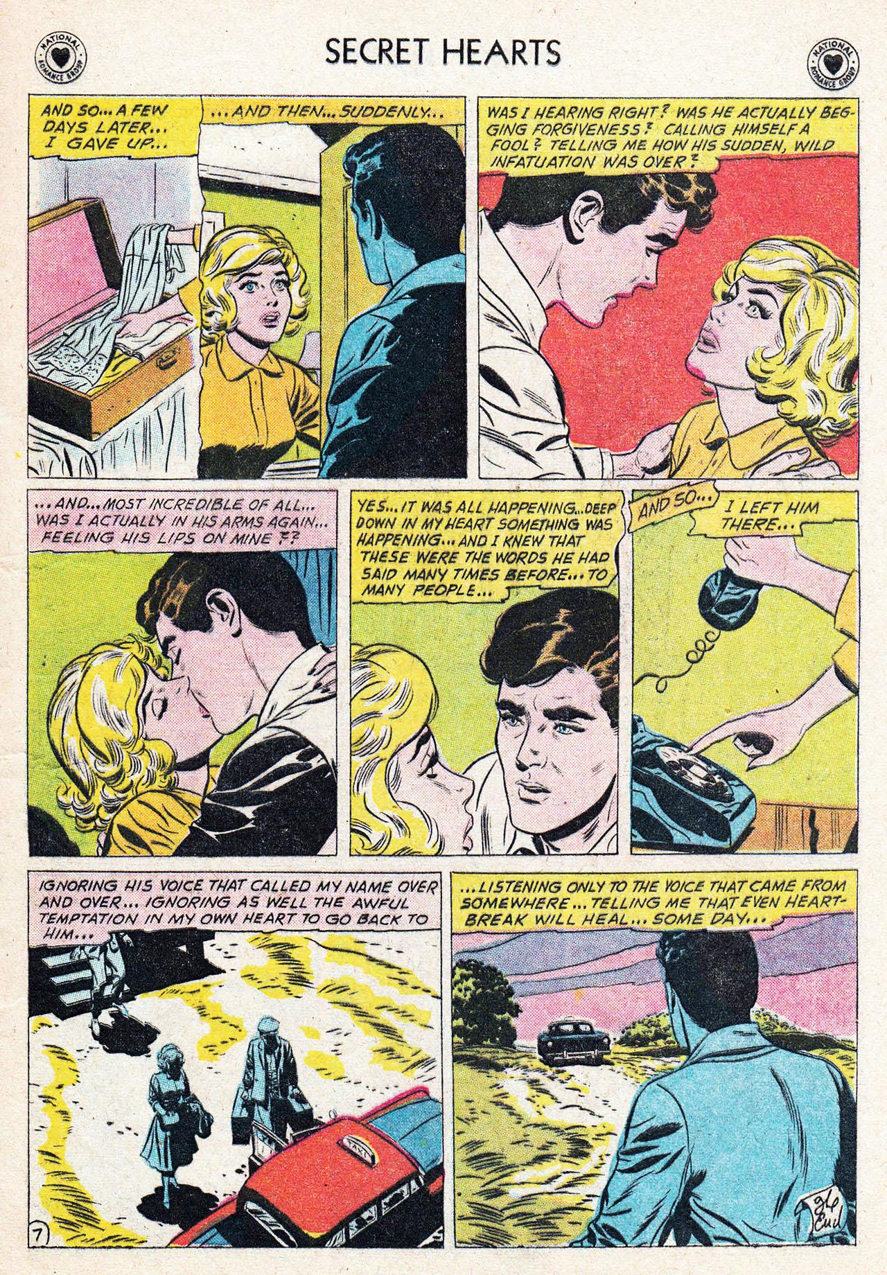 Read online Secret Hearts comic -  Issue #75 - 9