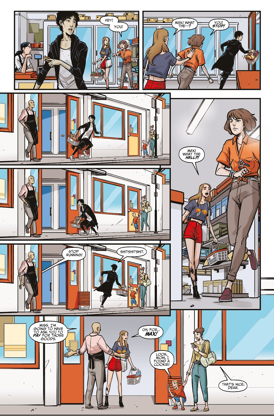 Read online Life is Strange comic -  Issue #6 - 13