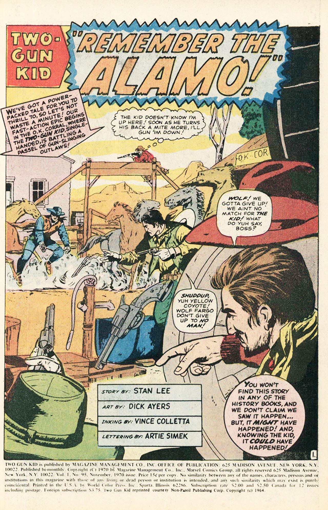 Read online Two-Gun Kid comic -  Issue #95 - 3