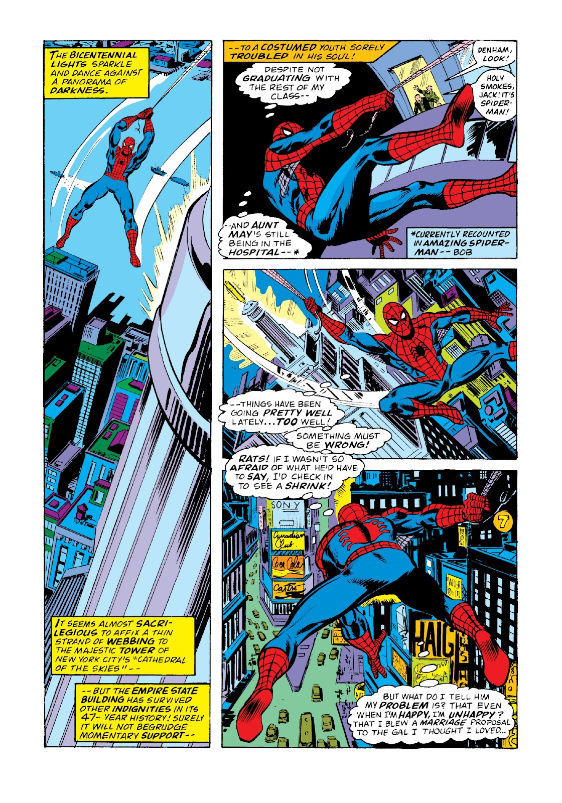 Read online Marvel Masterworks: The Spectacular Spider-Man comic -  Issue # TPB 2 (Part 2) - 77