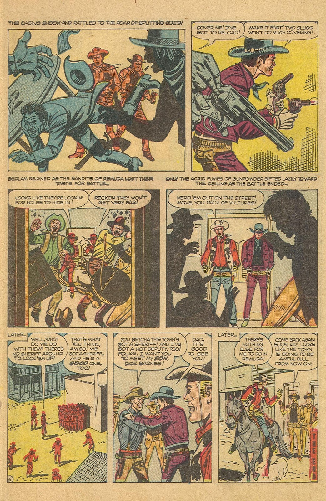 Gunsmoke Western issue 44 - Page 7