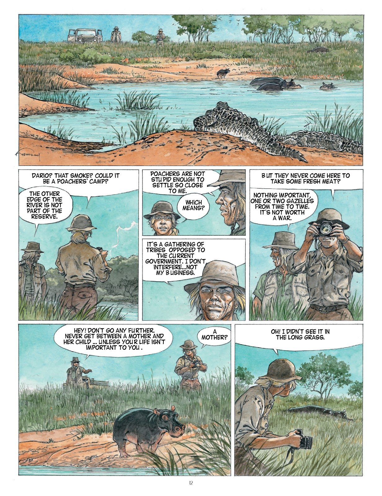 Read online Afrika comic -  Issue # TPB - 12