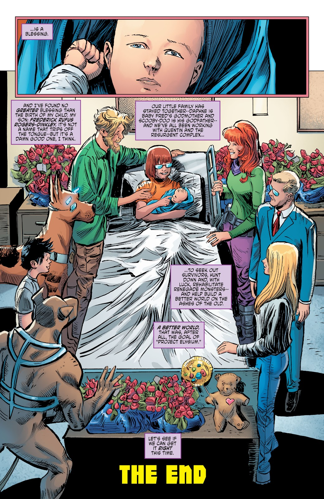 Read online Scooby Apocalypse comic -  Issue #36 - 19