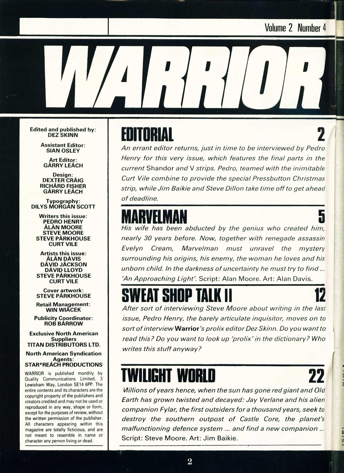 Warrior Issue #16 #17 - English 2