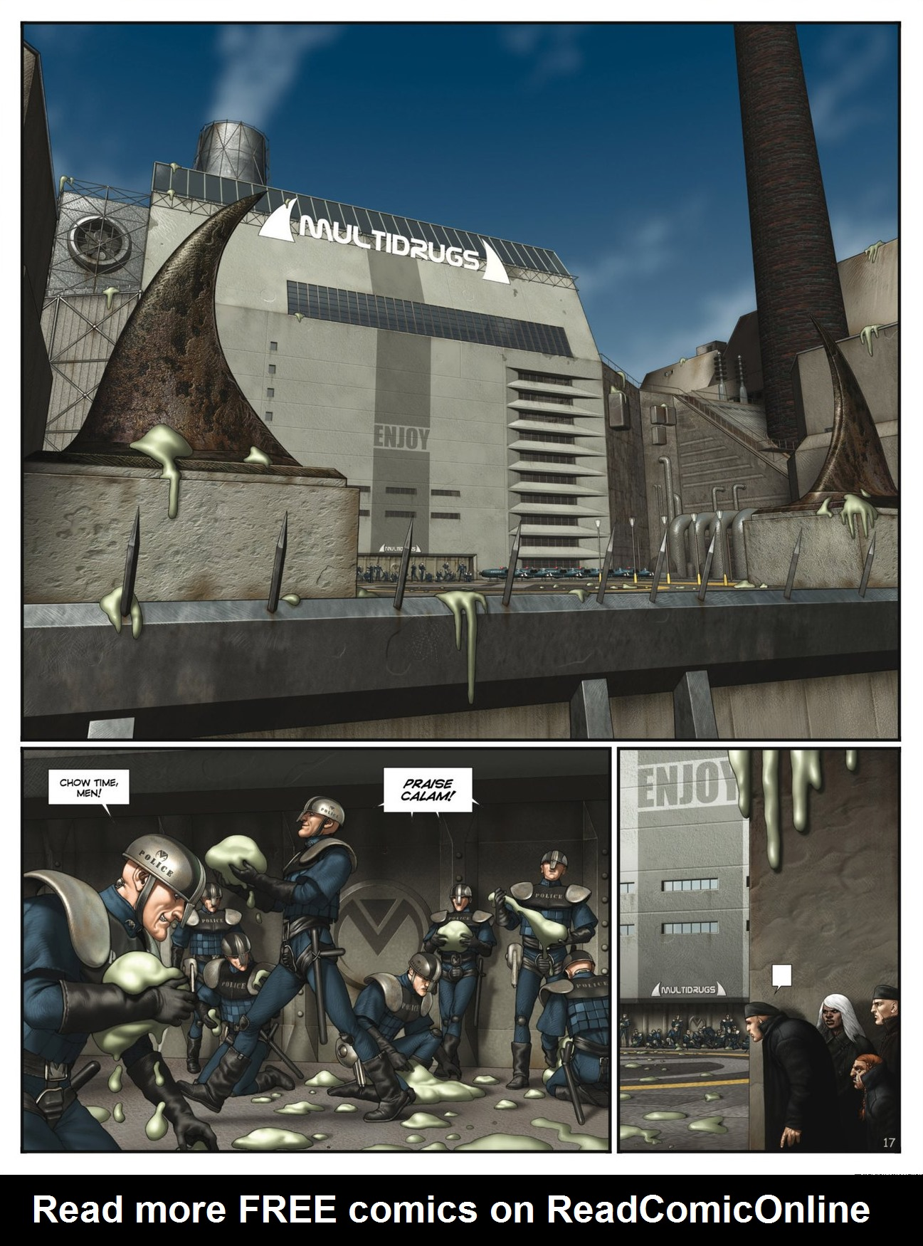 Read online Megalex (2014) comic -  Issue #2 - 19