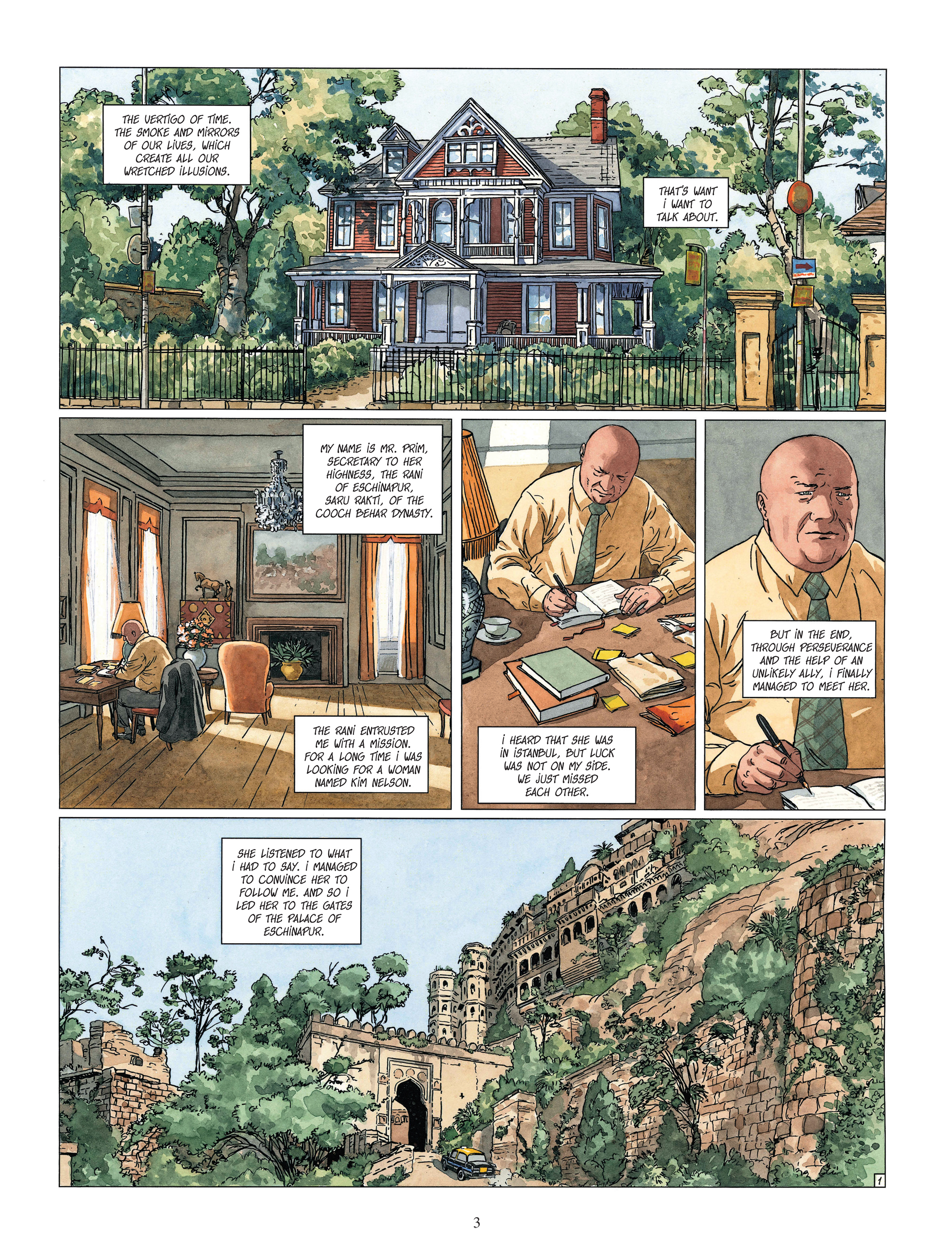 Read online Djinn comic -  Issue #13 - 4