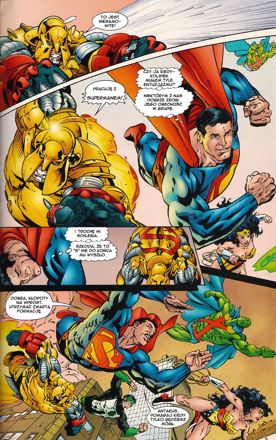 Read online JLA Superpower comic -  Issue # Full - 24