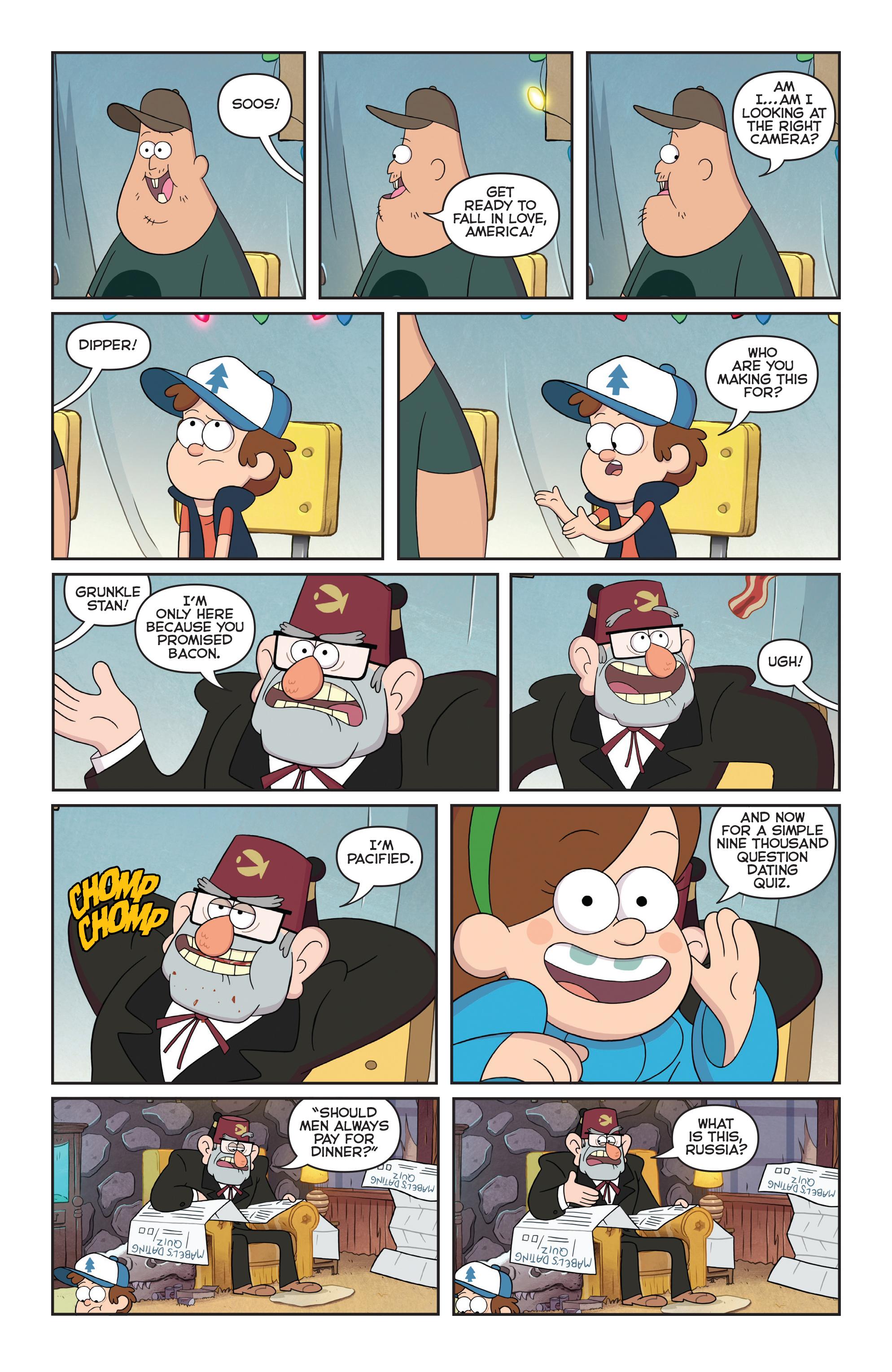 Read online Disney Gravity Falls Shorts Cinestory Comic comic -  Issue #1 - 15