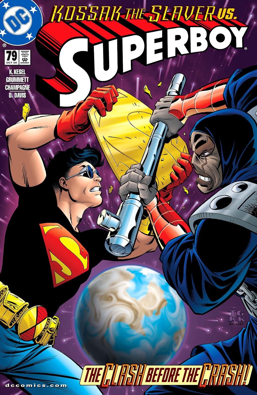 Superboy (1994) 79 Page 1