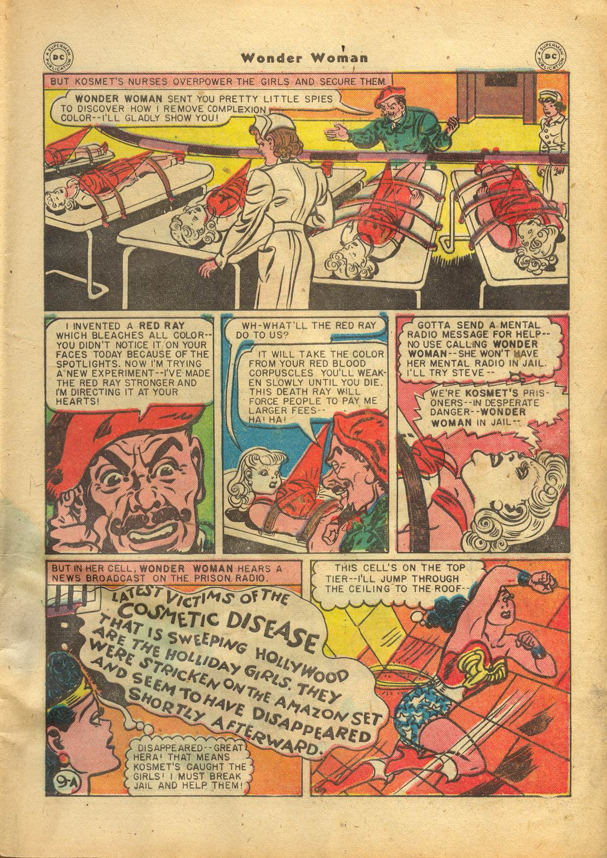 Read online Wonder Woman (1942) comic -  Issue #22 - 11