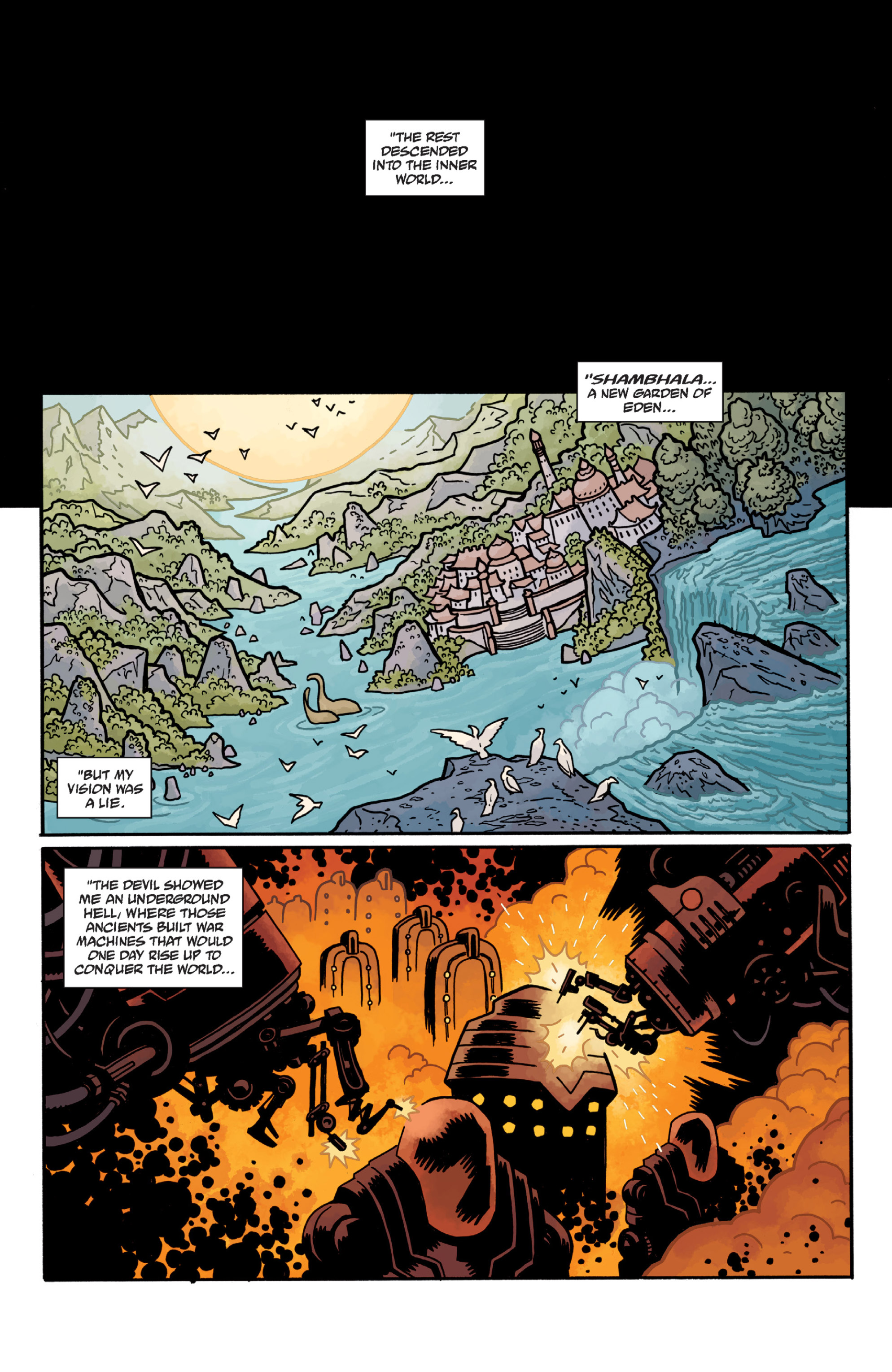 Read online Sir Edward Grey, Witchfinder: In the Service of Angels comic -  Issue # TPB - 74